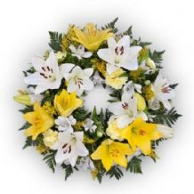 Loving Memory Lemon Wreath